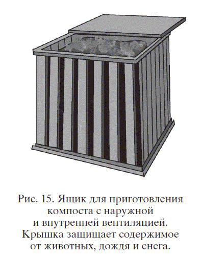 Ящик для приготовления компоста