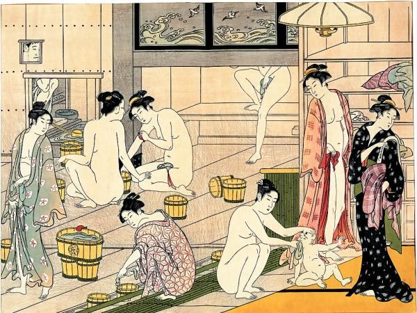 Фото 1.12. Большой популярностью пользуются сэнто – общественные бани