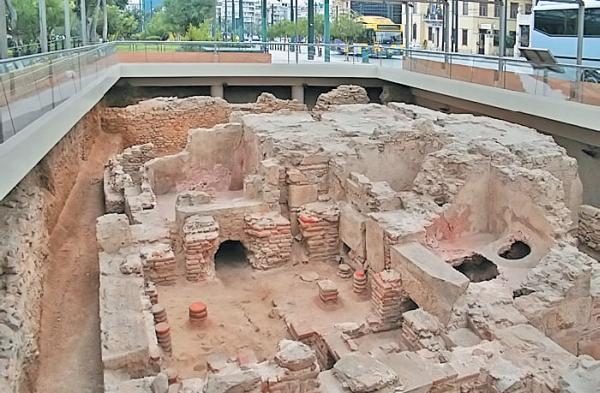 Фото 1.2. В Древней Греции бани появились сначала у спартанцев