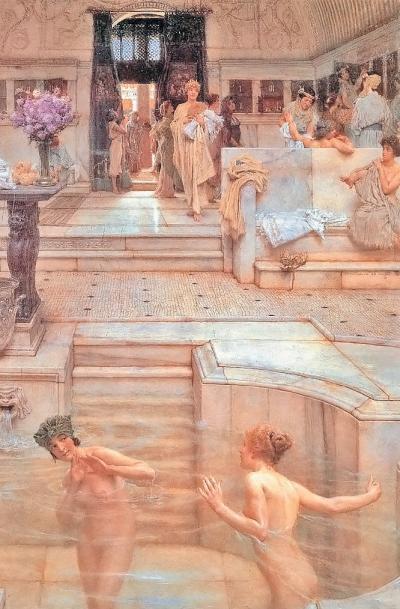 Фото 1.3. К концу I в. до н. э. вРиме было построено 150 общественных бань