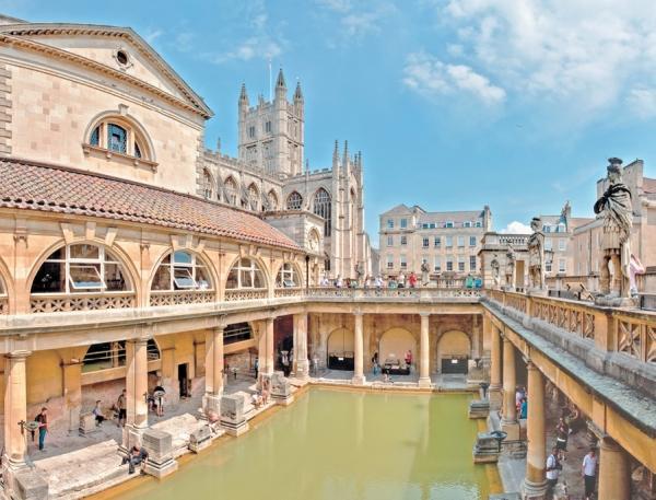 Фото 1.4. Восстановленная римская баня в Батте, Великобритания