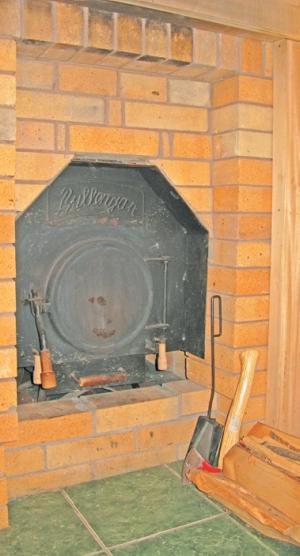 Фото 3.7.16. Парная Ю. иВ. Шабуниных оснащцена популярной банной печью «Буллерьян»
