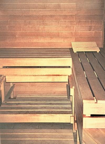 Фото 4.4.1. Типовая конструкция деревянной сауны
