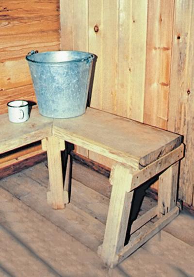 Фото 5.1.3. Первородная система водоснабжения мыльной