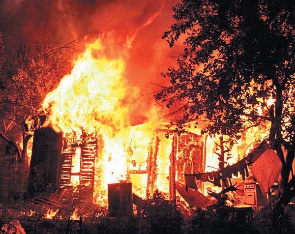 Фото 5.3.7.1. В жизни пожар – это всегда трагедия