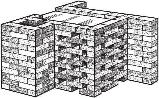 Рис. 6.5.5. Кирпичные ограждения металлических печей-каменок