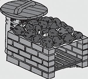 Печи-каменки периодического действия