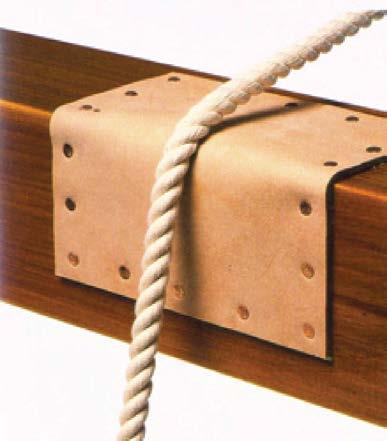 Рис.2.45. Дополнительная площадка из мягкого материала, устанавливаемая в место возможного трения