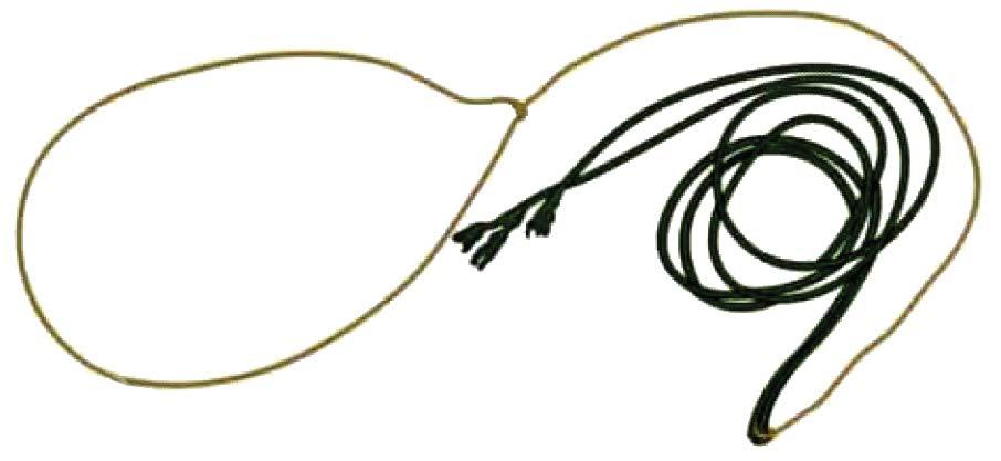 Рис.3.6. Петля из расплетенной веревки